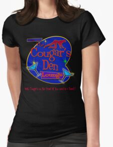 The Cougars Den Womens Fitted T-Shirt