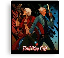 DMC - Brothers Canvas Print