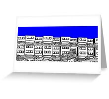 Ashfield Valley Flats, Rochdale Greeting Card