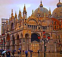Basilica San Marco, Venice by Al Bourassa