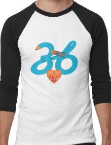 T-Shirt 36/85 (Workplace) by Irene Teng Men's Baseball ¾ T-Shirt