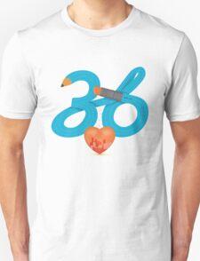 T-Shirt 36/85 (Workplace) by Irene Teng T-Shirt