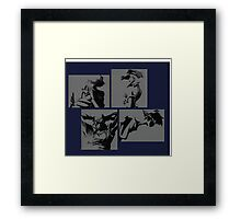 Cowboy Bebop Characters Framed Print