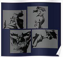 Cowboy Bebop Characters Poster