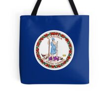 Virginia USA State Richmond Flag Bedspread T-Shirt Sticker Tote Bag
