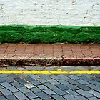 Road, Line, Kerb, Path, Step, Wall by richman