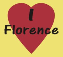 I Love Florence - I Heart Firenze T-Shirt Kids Tee
