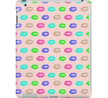 psychedelic lips iPad Case/Skin