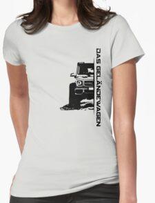 Das Geländewagen (6x6) Womens Fitted T-Shirt