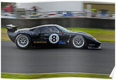 Production Sports Cars | Sports Car Carnival 2010  | Eastern Creek Raceway | Iain Pretty  | GT40  by DavidIori