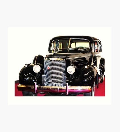 Cadillac Classic Art Print