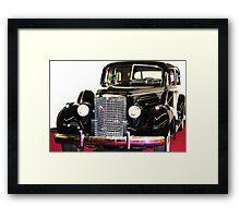 Cadillac Classic Framed Print