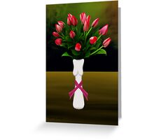 SURREALISM - A Lady's Cancer Greeting Card