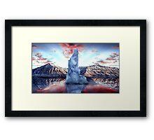 Last Arctic Ice Framed Print