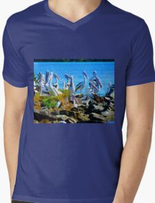 The Meeting place Evans Head NSW Mens V-Neck T-Shirt