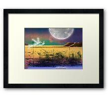 The Plains of Silda Framed Print
