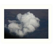 Ariel Cloudscape Art Print