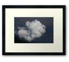 Ariel Cloudscape Framed Print