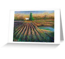 Spring Plow Greeting Card