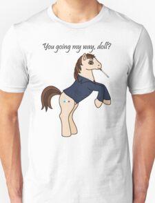 10th Doctor Retro Pony Unisex T-Shirt