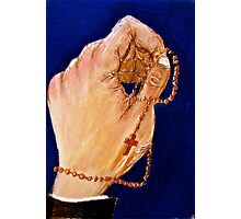 The Hands of Prayer Photographic Print