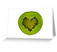 I Love Kiwifruit Greeting Card