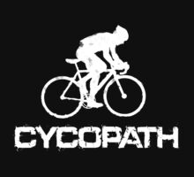 Funny Cycling T Shirt - Cycopath by movieshirtguy