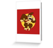 Attack of the Kong Greeting Card