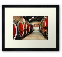 Rutherglen Red Framed Print