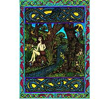 Hern and the Water Spirits, (coloured) Photographic Print