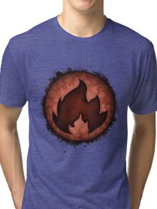 The Fire Types Tri-blend T-Shirt