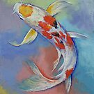 Butterfly Koi Fish by Michael Creese