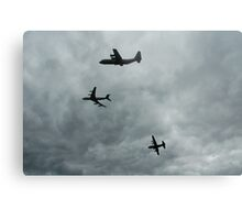 Formation Break of 707 + 2 Hercules,2006  Metal Print