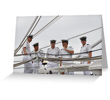 Sailor boys - this one's for the girls Greeting Card