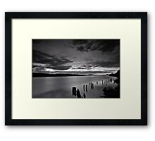 """April Sunset"" Framed Print"