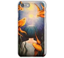 Two moons iPhone Case/Skin