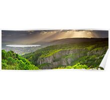 Cheddar Gorge Panorama Poster