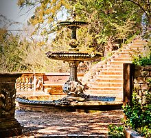 Turtle Fountain. Cliveden Estate, Buckinghamshire, UK. by DonDavisUK