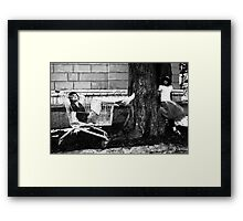 The Best of Trolley Days. Framed Print