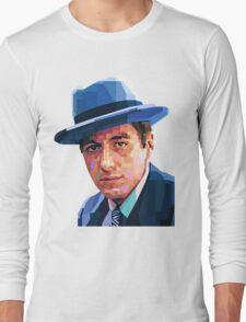 AL PACINO THE GODFATHER GRAPHIC ART PORTRAIT Long Sleeve T-Shirt
