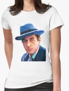AL PACINO THE GODFATHER GRAPHIC ART PORTRAIT Womens Fitted T-Shirt