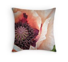 Poppy Love! Throw Pillow