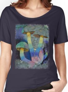 Magic Mushrooms Women's Relaxed Fit T-Shirt