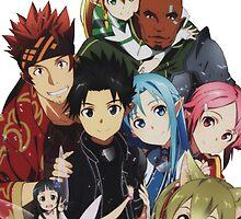 Anime: SWORD ART ONLINE by shuuheii