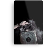 Recorded Dust Metal Print