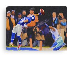 The Catch 2014 OBJ13 Canvas Print