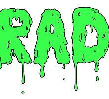 Totally Rad - Green by heyrebekah