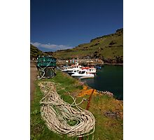 Boscastle Harbour Photographic Print