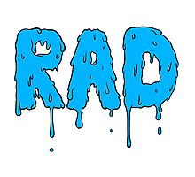 Totally Rad - Blue Photographic Print