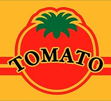 Tomato Convenience Store Logo (Yellow Background) by FrozenLip